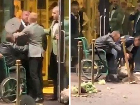 Man in wheelchair throws plant pots at Ivy 'for not letting him in'