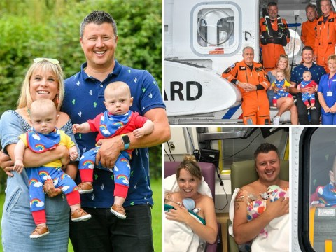 Britain's youngest premature twins born at 22 weeks celebrate first birthday