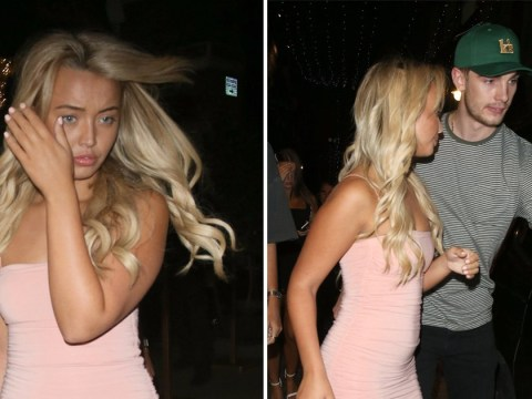 Love Island's Harley Brash parties with pals following split from Chris Taylor two weeks after show ends