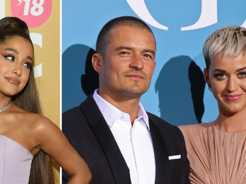 Katy Perry and Orlando Bloom are Ariana Grande fans for life after she paid for their meal