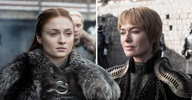 Sansa Stark and Cersei Lannister