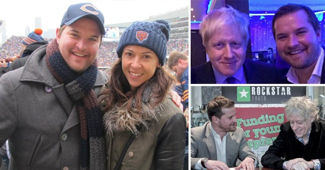 Dad who died in cruise ship fall mixed with Boris Johnson and Bob Geldof