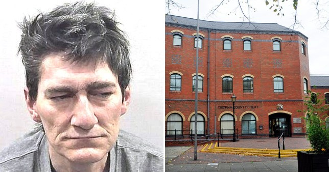 Ian Parrish had threatened to put a knife through the eyes of the police (Picture: Humberside Police; PA)