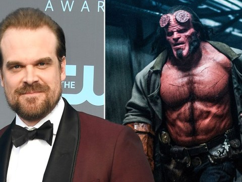 Stranger Things' David Harbour details painstaking 3-hour Hellboy transformation