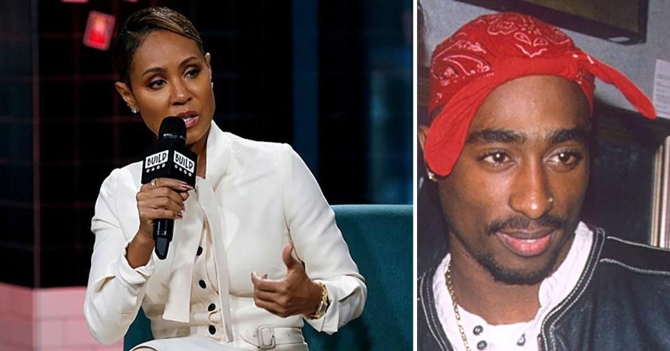 Jada Pinkett Smith and Tupac Shakur