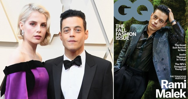 Rami Malek admits 'latching onto happiness' with Lucy Boynton after finding love on Bohemian Rhapsody