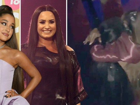 Demi Lovato celebrates turning 27 by partying with Ariana Grande in London