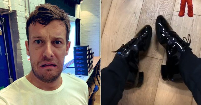 Strictly Come Dancing's Chris Ramsey is a mess after first rehearsal