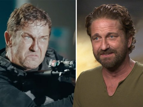 Gerard Butler on 'brutal' Angel Has Fallen fight scenes that had him collapsing in exhaustion