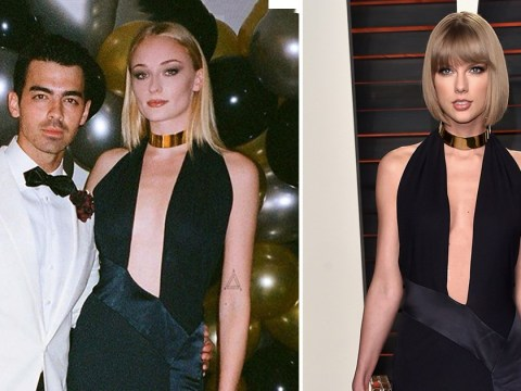 Sophie Turner wears the same dress Taylor Swift wore in 2016 proving they share the same taste in men and clothes