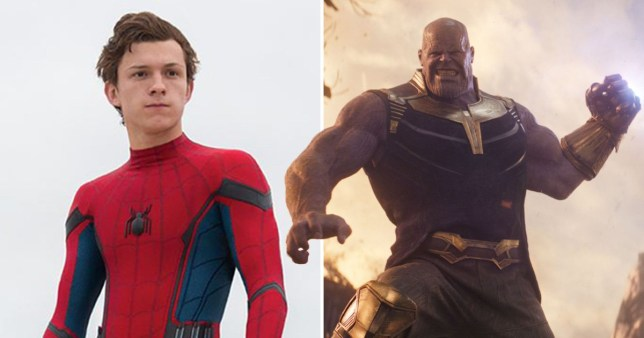 Spider-Man and Thanos