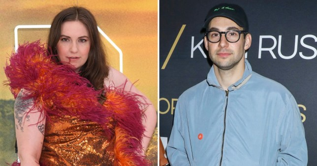 Lena Dunham 'slept between two filing cabinets' after moving out of home she shared with Jack Antonoff