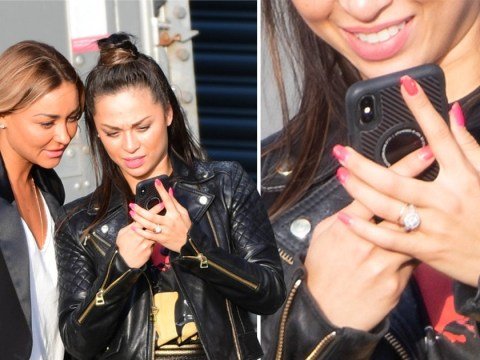 Katya Jones keeps wedding ring firmly on as she emerges following split with Neil