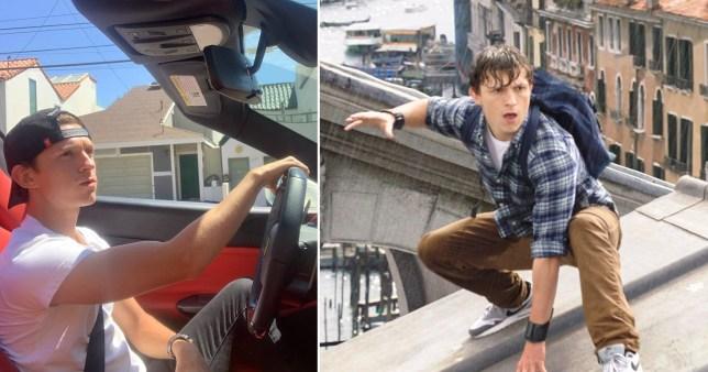 Spider-Man's Tom Holland