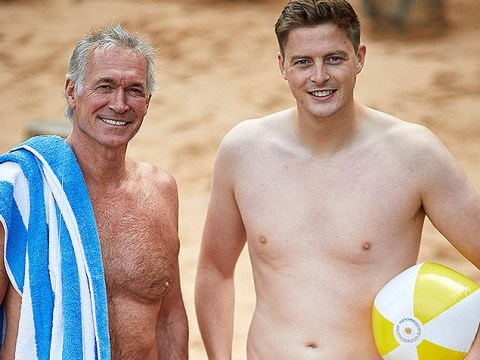 Love Island's Dr Alex George and ITV's Dr Hilary Jones strip off to promote body confidence