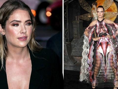 Cara Delevingne rocks quite the fierce dress alongside 'wife' Ashley Benson at Carnival Row premiere