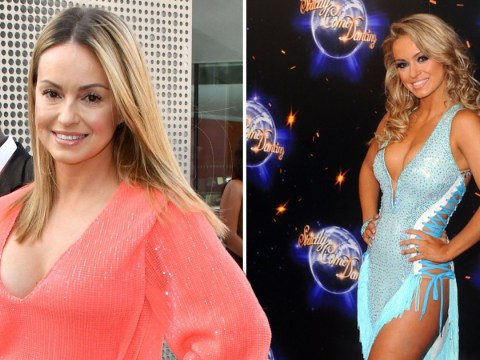 Ola Jordan admits she felt ridiculous pressure to be 'skinny' dancing on Strictly