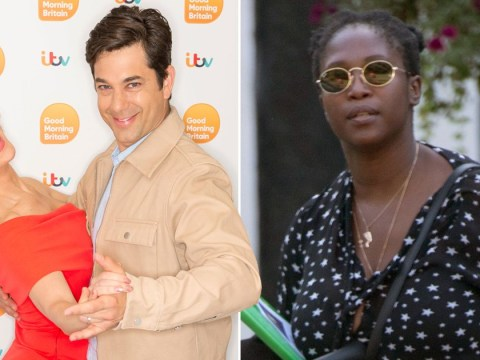 Strictly's new judge Motsi Mabuse heads to work ahead of BBC One kick off