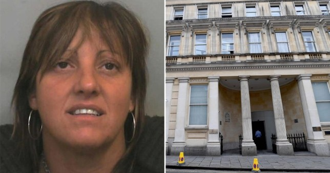 Pictures of Natalie Davis in Africa, Asia and Snowdonia were shown to Bristol Crown Court