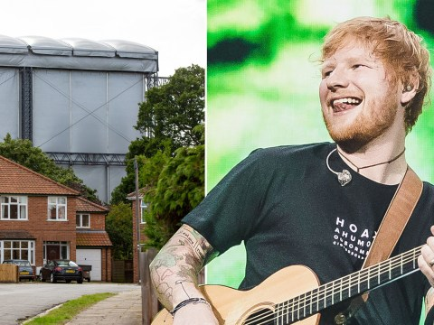 Ed Sheeran's basically putting on a gig for 160k fans in Ipswich right in these people's backyards