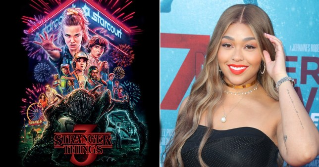 Jordyn Woods and Stranger Things