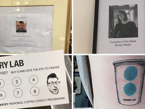 Coffee lovers' fight to be named cafe's best customer gets out of hand