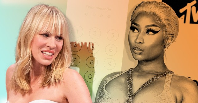 Natasha Bedingfield and Nicki Minaj