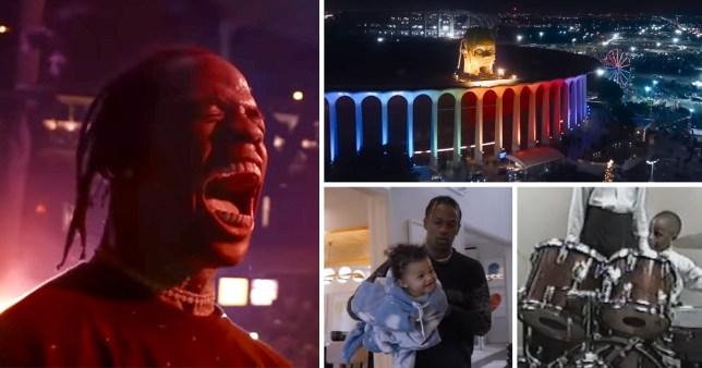 Travis Scott fans praise 'legendary' Netflix film Look Mom I