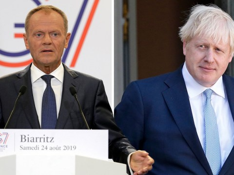 Boris arrives at G7 summit after 'Mr No-Deal' spat with EU chief