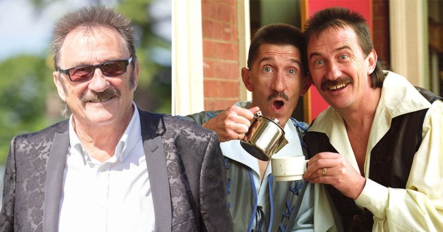 Paul Chuckle is kicking off