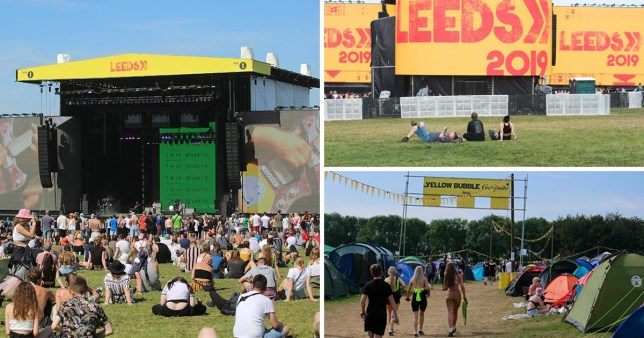 A 17-year-old girl has died of a suspected drugs overdose at Leeds Festival (Picture: SWNS)