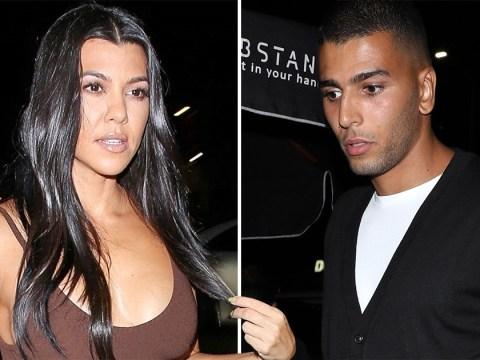 Kourtney Kardashian runs into ex Younes Bendjima on night out but luckily avoids any 'hoo-ha'