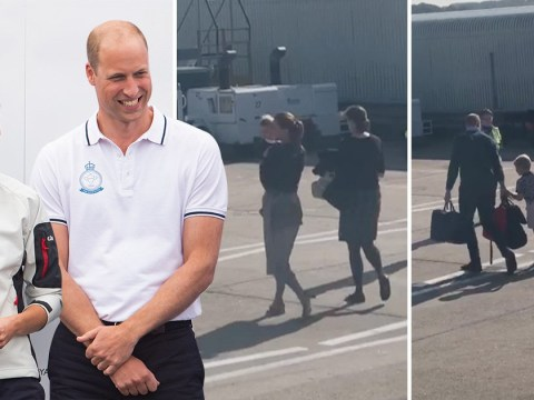 Flybe 'sent empty plane so William and Kate could travel economy'