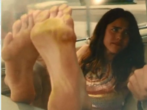 Image result for once upon a time in hollywood margot feet