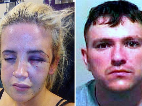Mum beaten unconscious after ex spotted her from car window