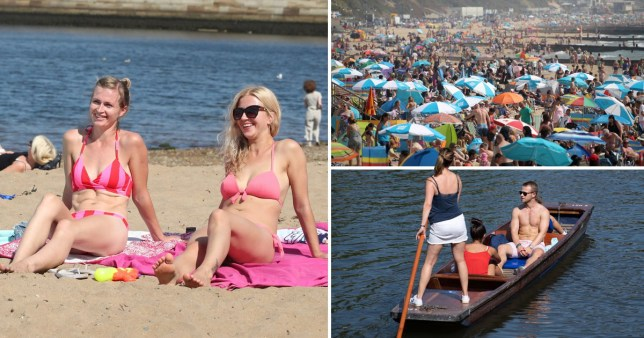 Bank Holiday Monday weather forecast as heatwave continues with record temperatures