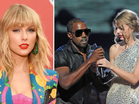 Taylor Swift makes shady reference to Kanye West crashing speech 10 years ago at MTV VMAs