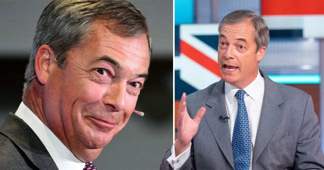 Brexit Party leader Nigel Farage on Good Morning Britain