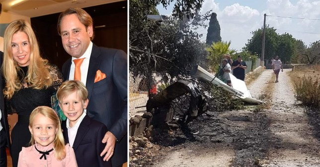 The German family of four killed in a helicopter crash in Majorca