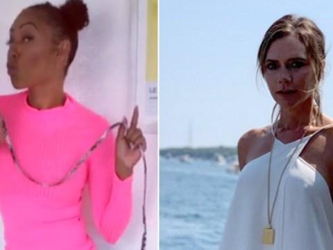 Mel B compares Victoria Beckham to her dog as she cracks Spice Girls jokes on Brutally Honest tour