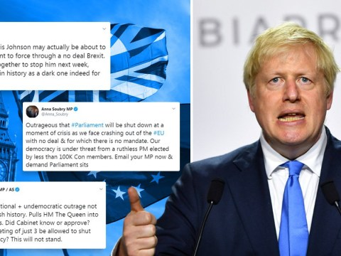 'A dark day for democracy': MPs react as Boris Johnson plans to suspend Parliament