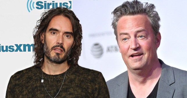 Friends' Matthew Perry joins Russell Brand as he prepares to open up about mental health battle and addiction