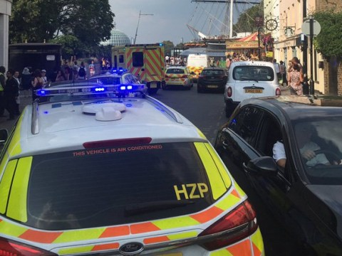 Man, 18, arrested after two women stabbed in rampage near London's Cutty Sark