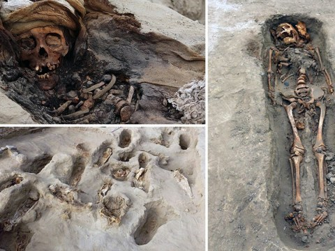 Hundreds of bodies found at 'world's largest child sacrifice site' in Peru