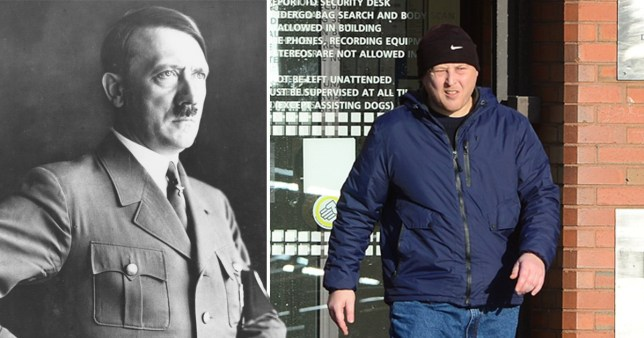 Man tells police Hitler was 'misunderstood' and Jews died from disease