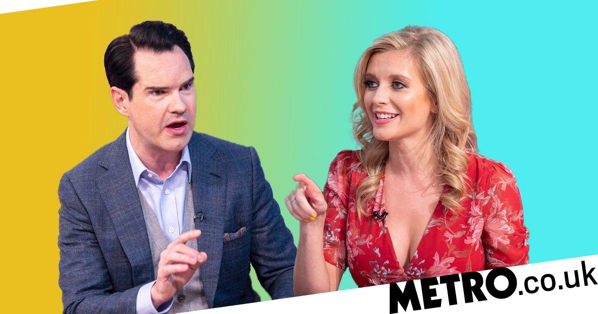 Jimmy Carr Speechless As Rachel Riley Totally Rinses His Manhood Metro News