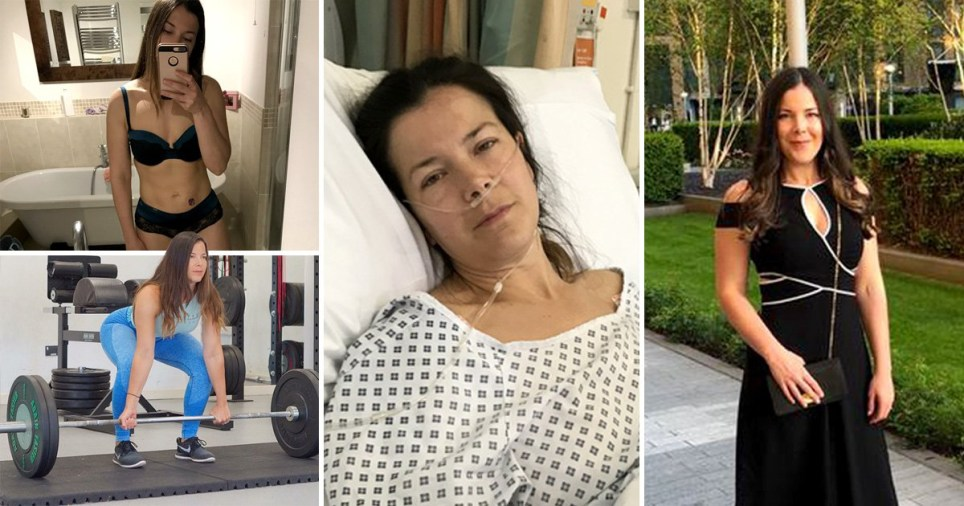 Beth throughout her journey with bowel cancer