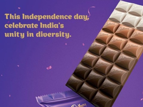 Cadbury ridiculed for 'solving racism' with four-tone chocolate bar