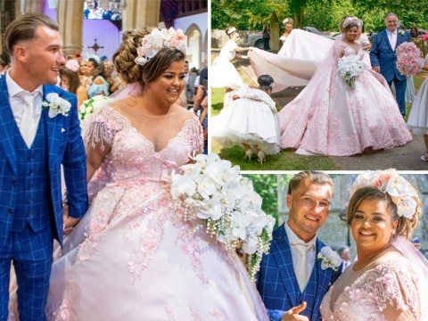 The X Factor star Scarlett Lee, 21, marries Nathan Shaw in lavish ceremony