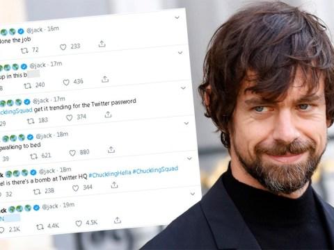Hackers tweet bomb threats and racist slurs on Twitter CEO Jack's account